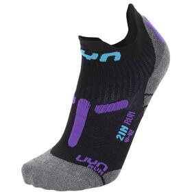 "UYN 2"" Running Socks Women black/violet"
